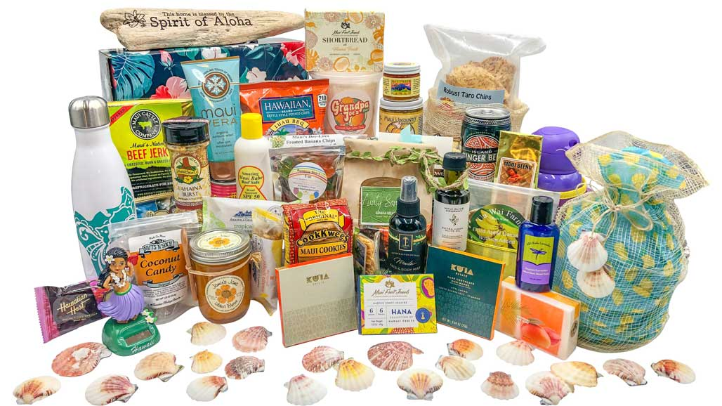 Maui selection of foods and gifts