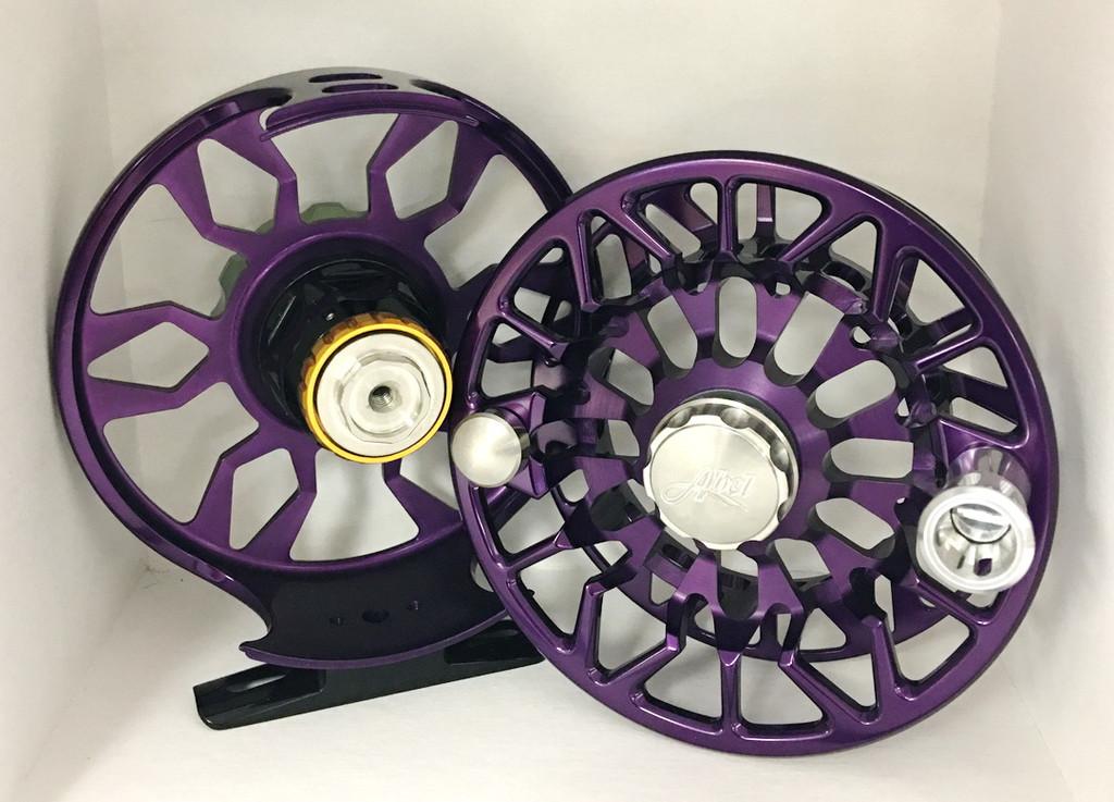 SDS 7/8 Purple with Bonefish Drag Knob and Platinum Handle