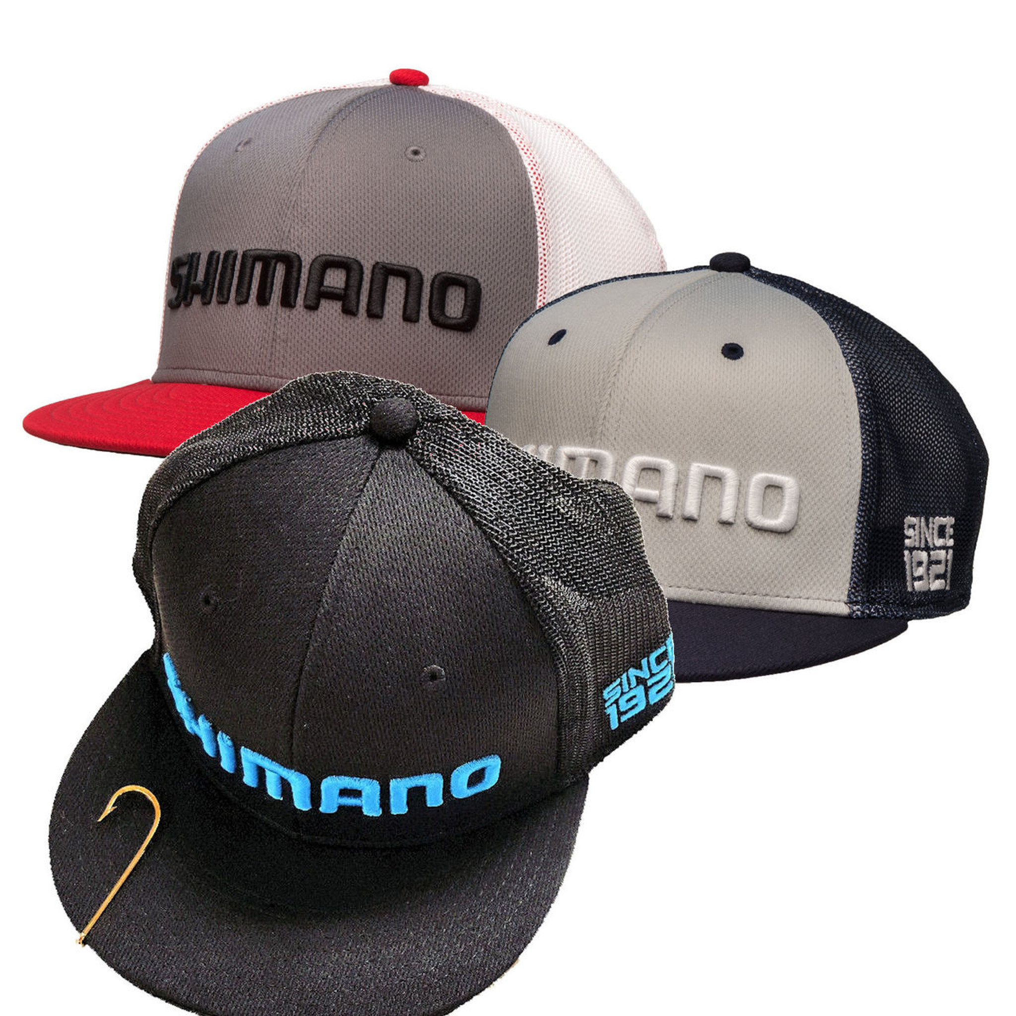 Shimano ProFlex Flatbill Q3 Fitted Cap - FlyMasters of Indianapolis f2e8e88b20b