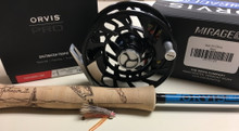 Helios 3 9' #8 4pc Artist Collab Rod and Reel Combo