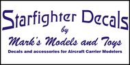 Starfighter Decals