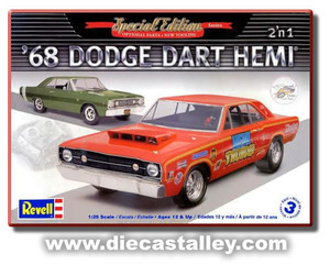 1/25 Revell 1968 Dodge Hemi Dart (Kit)