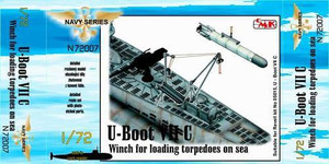 1/72 CMK U-boat Type VII Winch loading torpedoes on sea