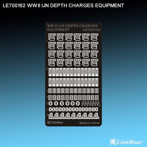 1/700 Lion Roar  WWII IJN Depth Charges Equipment