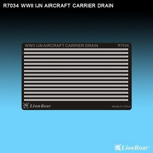 1/700 Lion Roar WWII IJN Aircraft Carrier Drains