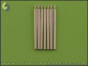 1/350 Master Models Brass Barrels IJN Nagara armament - 14cm/50 (7pcs) barrels