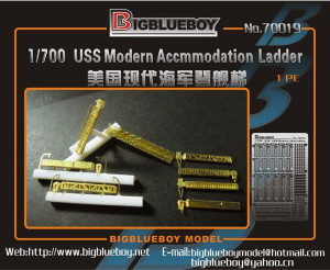 Big Blue Boy 1/700 Big Blue Boy USN modern Accommodation ladder
