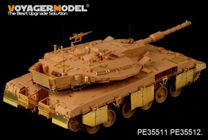 Voyager Model 1/35 Voyager IDF Merkava Mk.3D MBT side skirts FOR HOBBYBOSS 82441