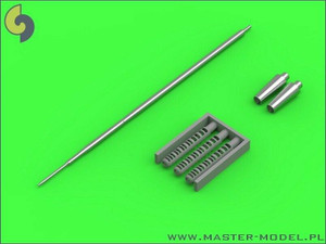Master Models 1/32 Master Models Shenyang J-6/F-6 - gun barrels set, and Pitot Tube