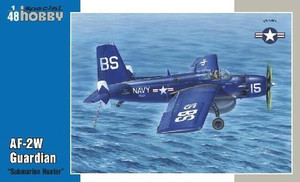 Special Hobby 1/48 Special Hobby - Grumman AF-2W Guardian Submarine Hunter Used with the AF-2S, completes the Submarine Hunter and Killer duo