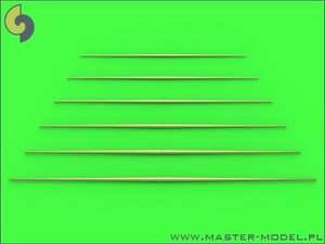 Master Models 1/350 Master Models Set of universal yardarms No2 lengths = 40,45, 50, 55, 60, 65mm - 1pc of each