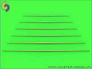 Master Models 1/700 Master Models Set of universal yardarms No2 lengths = 20, 22.5, 25, 27.5, 30, 32.5mm - 1pc of each