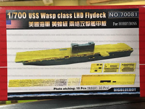 Big Blue Boy 1/700 Big Blue Boy USS Wasp class LHD Flight deck for Hobbyboss