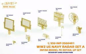 Infini Models 1/350 Infini Models WWII Us Navy Radar Set