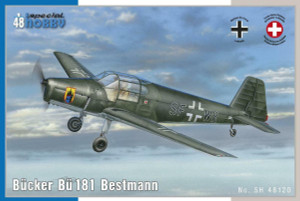 Special Hobby 1/48 Special Hobby Bucker Bu181 Bestmann Trainer Aircraft