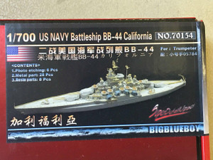 Big Blue Boy 1/700 Big Blue Boy USS California BB-44 1944/45 Upgrade Set