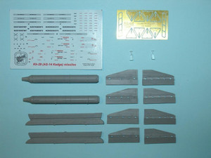 North Star Models 1/48 North Star Soviet Missile Kh-29 L NATO AS-14 Kedge A with AKU-58 pylon