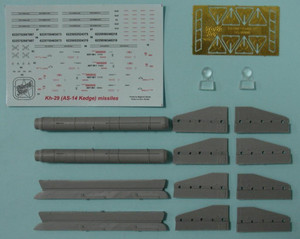 North Star Models 1/48 North Star Soviet Missile Kh-29 T NATO AS-14 Kedge B with AKU-59 pylon