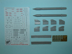 North Star Models 1/48 North Star Soviet Missile Kh-25 MP PRGS-1 VP NATO Karen-12 with APU-68