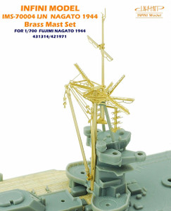 Infini Models 1/700 Infini IJN Nagato 1944 Brass Mast Set For Fujimi 431314/421971