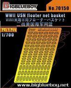 Big Blue Boy 1/700 Big Blue Boy WWII USN Floater Net Basket