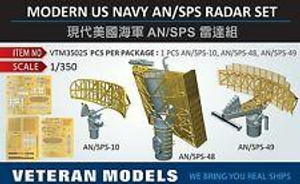 Veteran Models 1/350 Veteran Models Modern US Navy AN/SPS Radar Set