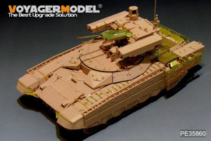 Voyager Model 1/35 Voyager Models Modern Russia BMPT-72 Fire Support Combat Vehicle For Tiger Models 4611
