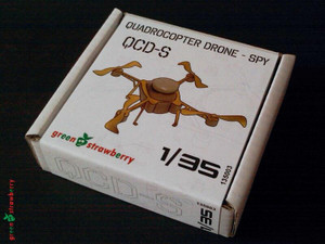 Green Strawberry Green Strawberry QuadroCopter Drone-Spy QCD-S