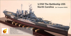 Very Fire 1/350 Very Fire North Carolina Super Detail Up Set for Trumpeter
