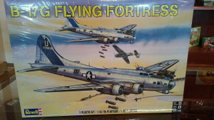 Revell 1/48 Revell B-17G Flying Fortress Model Kit - 5600