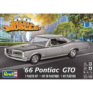 Revell 1/25 Revell 1966 Pontiac GTO Model Kit - 4479
