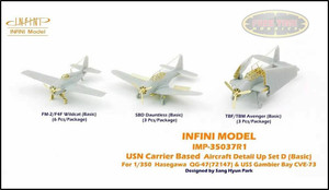 Infini Models 1/350 Infini Models USN Carrier Based Aircraft DETAIL UP Set D - Basic