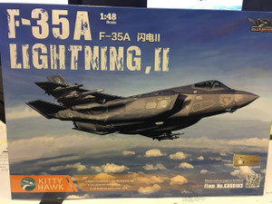 Kitty Hawk Models 1/48 Kitty Hawk Model Lockheed Martin F-35A Lightning II with Photo Etch