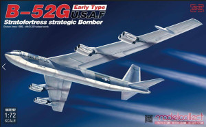 ModelCollect 1/72 Modelcollect B-52-G Early Type Broken Arrow 1966 w/ B-28 Bomb Stratofortress