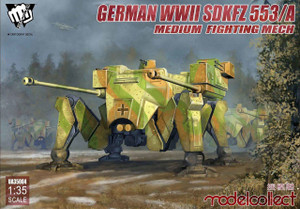 ModelCollect 1/35 Modelcollect Fist of War sdkfz 553/A medium fighting Mech