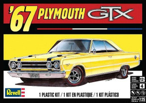 Revell 1/25 Revell 1967 Plymouth GTX Model Kit - 4481