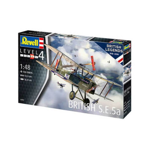 1/48 Revell British S.E.5a Model Kit - 3907