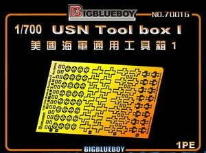 Big Blue Boy 1/700 Big Blue Boy Photo Etch USN Tool Boxes