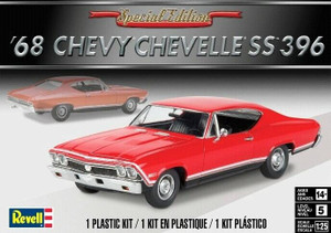 Revell 1/25 Revell 1968 Chevy Chevelle SS 396 Model Kit - 4445