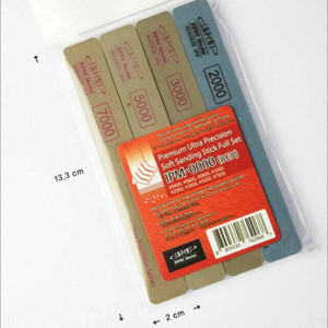 Infini Models Infini Models Ultra Precision Soft Sanding Stick Full Set 8 different grits