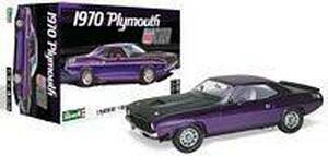 Revell 1/25 Revell 1970 Plymouth AAR Cuda Model Kit - 4416