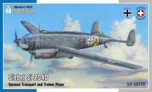 Special Hobby 1/48 Special Hobby Siebel Si 204D German Transport and Trainer Plane