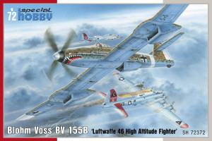 Special Hobby 1/72 Special Hobby Blohm Voss BV 155B-1 Luftwaffe 46 High Altitude Fighter