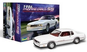 Revell 1/24 Revell 1986 Chevy Monte Carlo SS 2n1 Model Kit - 4496