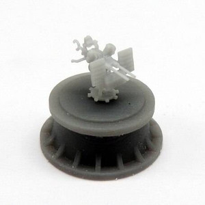 Black Cat Models 1/350 Black Cat Models 20MM OERLIKON MK.24 TWIN GUN WITH AMMUNITION BAG X10