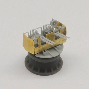 Black Cat Models 1/350 Black Cat Models 40MM BOFORS QUAD GUN MK.4 MOD.23-31 X4