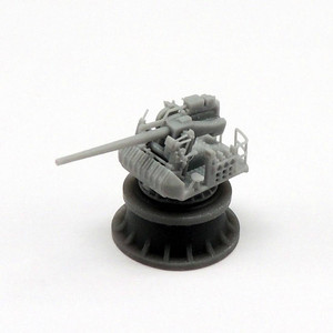 Black Cat Models 1/350 BLACK CAT MODELS 5in/38 Mk.30 gun on platform x4