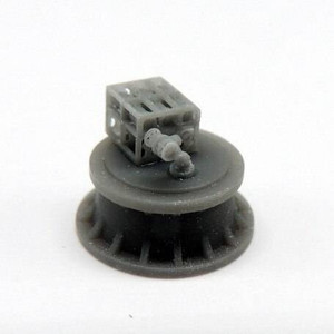 Black Cat Models 1/350 BLACK CAT MODELS K-GUN WITH MK.9 DEPTH CHARGES X4
