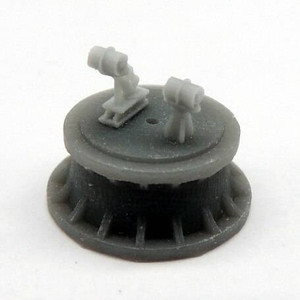 Black Cat Models 1/350 BLACK CAT MODELS MKII DEPTH CHARGE THROWER AND DEPTH CHARGES X4