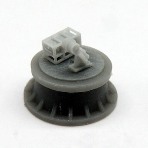Black Cat Models 1/350 BLACK CAT MODELS MKIV DEPTH CHARGE THROWER AND DEPTH CHARGES STOWAGE RACKS X4